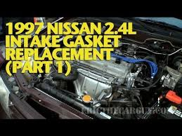 nissan l intake gasket replacement part ericthecarguy 1997 nissan 2 4l intake gasket replacement part 1 ericthecarguy