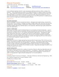 Combination Style Resume Sample Gallery Of Master Resume Template 23