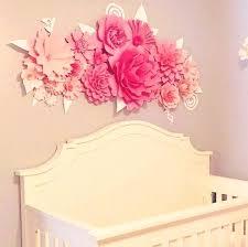 paper wall flowers image 0 paper wall flowers nursery diy paper wall flowers