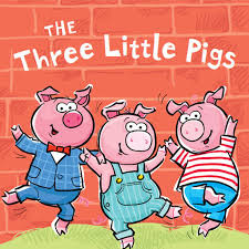 Image result for three pigs clipart