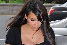 kim kardashian deja ver su ropa interior con vestido transpae video fotos huffpost