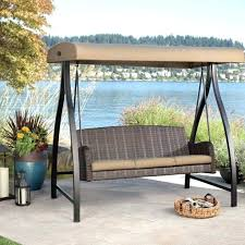 3 person patio swing with canopy photo 3 of 8 l patio swing canopy cover backyard and outdoor furniture ideas black mesh cover three person outdoor 3 person