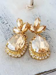 fantastic champagne crystal earrings chandelier earrings by champagne gold chandelier earrings shocking chandelier earrings