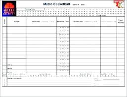 Basketball Stats Excel Template Template Ncaa Basketball Stat Sheet Template For Excel Worksheet