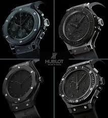 hublot all black everything fashion everything hublot all black everything