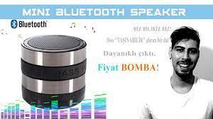 Dünyanın En Ucuz ve En İyi Taşınabilir Hoparlörü Mini Bluetooth Speaker  İnceleme - YouTube