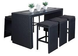 furniture patio backyard bar outdoor set impressive chairs portable tiki sets