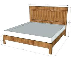 Bed Frames For Queen Size Bed Dimension Of King Size Bed Queen Size ...