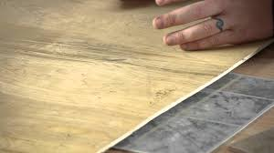 How To Lay Vinyl Tiles In Bathroom Problems Placing Ceramic Over Vinyl Tile Tile Help Youtube