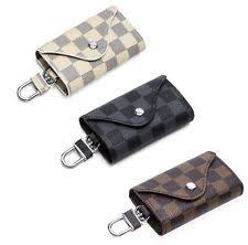 gucci key pouch. leather car key wallet men holder keys organizer women keychain case bag gucci pouch