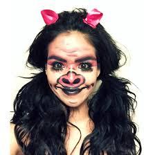 little piggy makeup