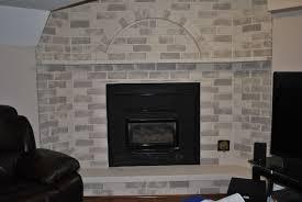 How To Whitewash Brick Whitewash Brick Fireplace
