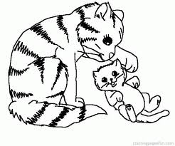 Small Picture Puppy And Kitten Coloring Page Coloring Home Coloring Coloring Pages