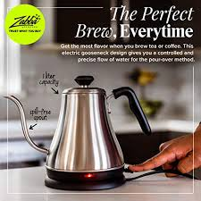 Coffee maker/coffee pot electric heating element. Electric Gooseneck Kettle 1l 120 Volt Stainless Steel Electric Tea Kettle Water Pot Heater Warmer Coffee Tea Pricepulse