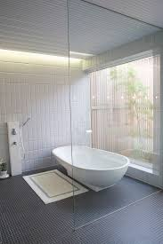 black-and-white-bathroom-floor-tile-Bathroom-Contemporary-with ...
