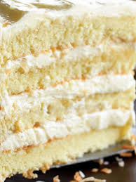 Culinary Physics Easy And Moist Southern Coconut Cake Recipe With