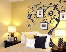 wall paint patterns t yellow bedroom