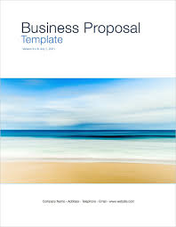 Ms Office Proposal Template Business Proposal Template Apple Iwork Pages Templates Forms