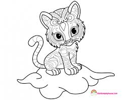 Nahal Shimmer And Shine Coloring Page Rainbow Playhouse Coloring