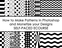 How To Make A Pattern Design How To Make Patterns In Photoshop And Monetize Your Designs