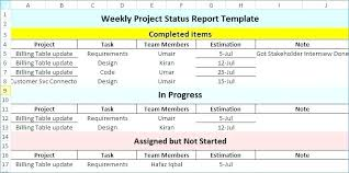 Weekly Report Format Excel Construction Daily Report Template Excel