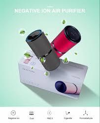<b>GIAHOL</b> Mini <b>Car Air</b> Purifier Portable Negative Ion Purifiers with ...