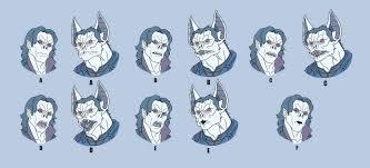 Artstation Usm Morbius Mouth Chart Jerome Moore