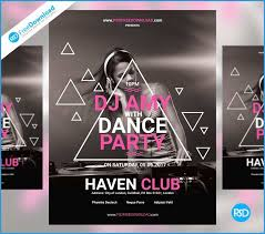 free dance flyer templates dance brochure templates free download new free dance party flyer