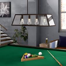 Pool Table Lights Glass Pool Table Lights Youll Love In 2019 Wayfair