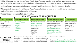 comparing checking out me history and singh song part two singh history compare