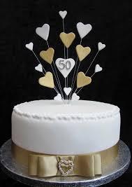 50th Wedding Anniversary Cake Decorations Food Photos