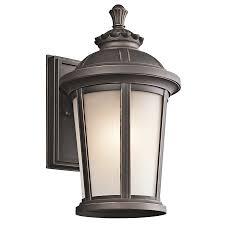Lamp Fixtures Garage Sconce Lights Bronze Exterior Lights