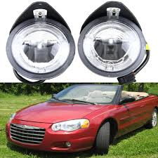 2004 Chrysler Pacifica Fog Lights Us 125 1 10 Off 12v Oe Fittimng Factory Style Fog Lights Drl Daytimg Running Light For Chrysler Pacifica 2004 Sebring Stratus Sedan 01 06 In Car