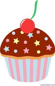 cupcakes with sprinkles clipart. Contemporary Clipart Chocolate Cupcake With Sprinkles Clip Art For Cupcakes Clipart