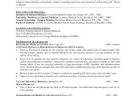 Physician Cv Template Word Brave100818 Com