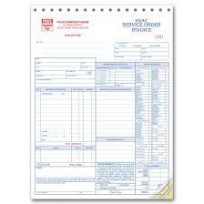Hvac Service Invoice Forms 6501 At Print Ez