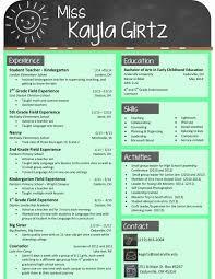 Cute Resume Templates Amazing Cute Resume Templates Fresh My Design For An Elementary Teacher Buy
