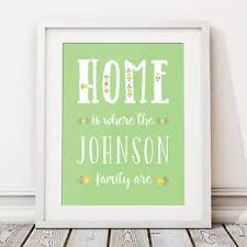 image is loading fl home personalised print new home housewarming gift