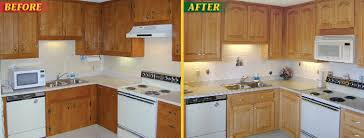 before after cabinet refacing picture gallery american wood reface