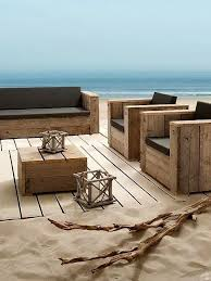 Best 25 Wood patio furniture ideas on Pinterest