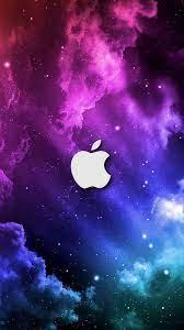 Galaxy Apple Logo Wallpapers - Top Free ...