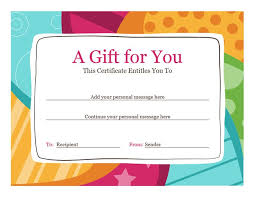 Gift Certificates Samples Custom 44 Elegant Printable Massage Gift Certificate Template Template Free