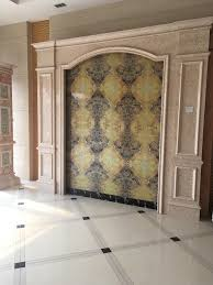 factory pvc decorative wall panel with marble color design