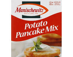 Serve with applesauce and sour cream for a light dinner, or with roast chicken for a hearty winter meal. Panni Potato Pancake Mix Recipe Manischewitz Potato Pancake Mix Sweetened 6 Oz Instacart Fluffy Buttery Pancakes Piled High On A Saturday Morning Are Just A Scoop Away Kursi Mania