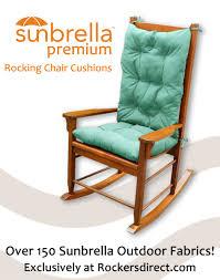 outdoor rocking chair cushions sale. sunbrella premium rocking chair cushion set blue green gray patio cushions large size outdoor sale u