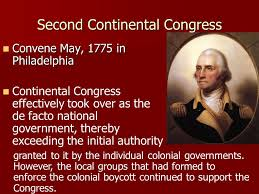 Image result for n 1775, the Second Continental Congress convened a