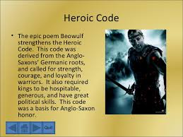 the anglo saxons and beowulf heroic