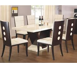 arta marble dining table and chairs oak dining room table with 8 chairs