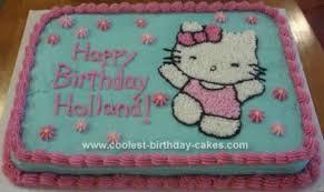 Coolest Hello Kitty Cake Idea