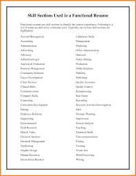 10+ personal skills list resume